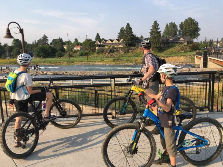 Bike ride in Bend, Oregon