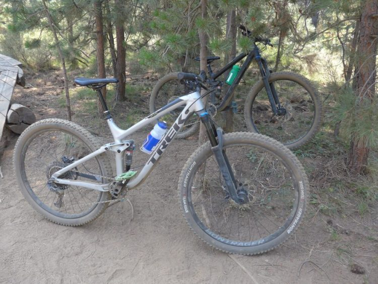 Trek Fuel Ex mountain bikes