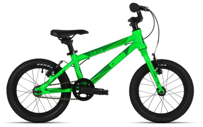 "Cuda CP14 Starter bike - 14"" wheel kids pedal bike ideal for children aged 3 years old and 4 years old who can pedal by themselves"