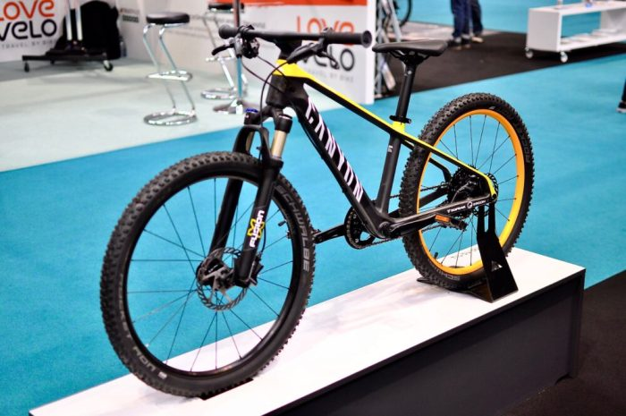 Cycle Show 2017 - Canyon CF24 kids mountain bike