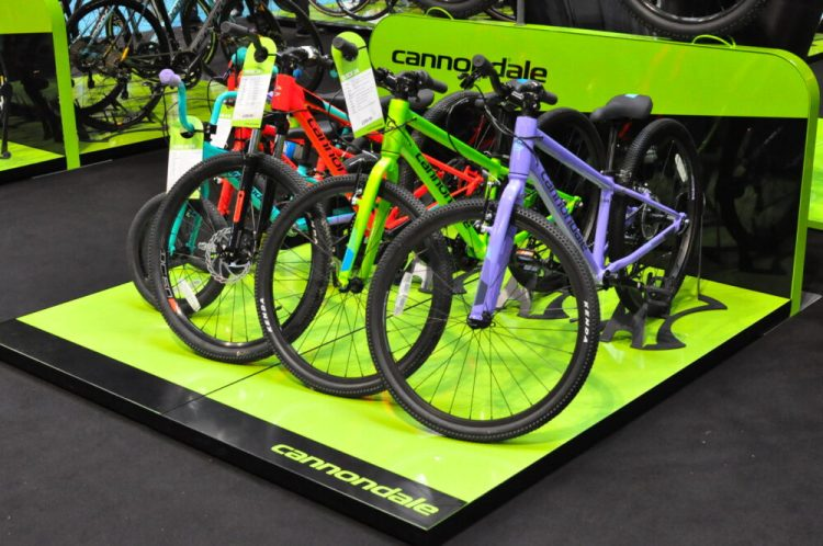 Cycle Show 2017 - Canondale kids range new for2018