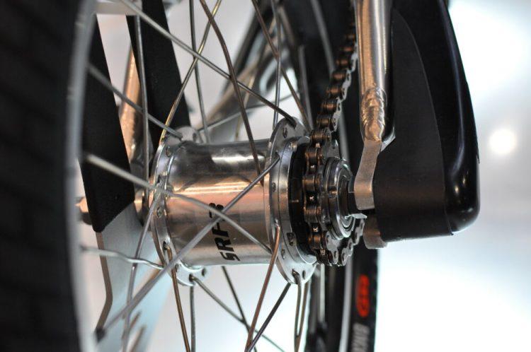 Cycle Show 2017 - prototype Darwin kids bike from Kiddimoto