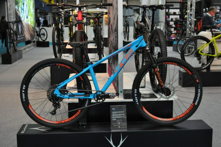 Cycle Show 2017 - Whyte 405 in new blue and orange colour scheme