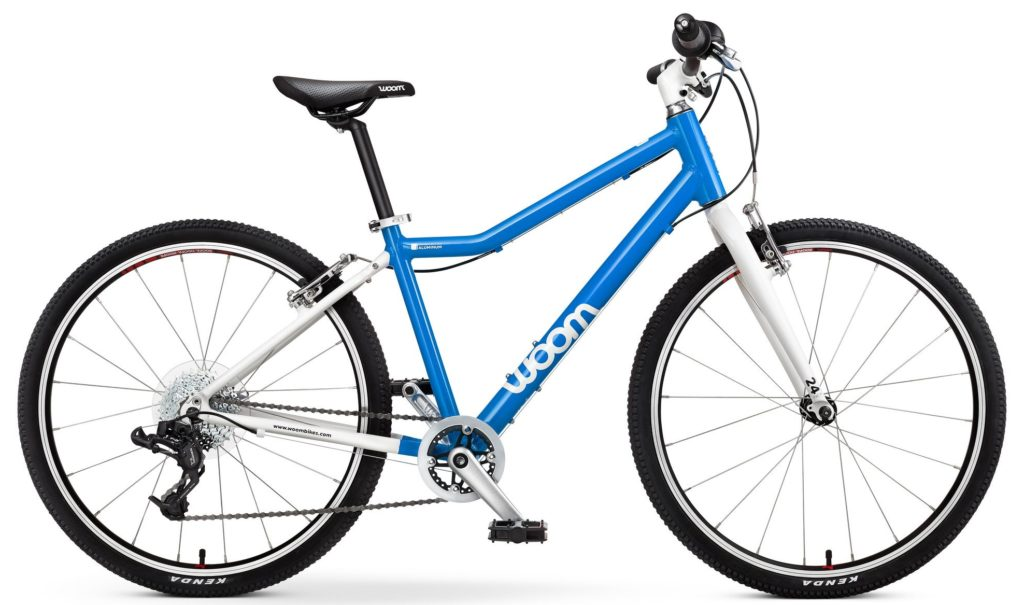 "Woom 5 is a 24"" kids bike"