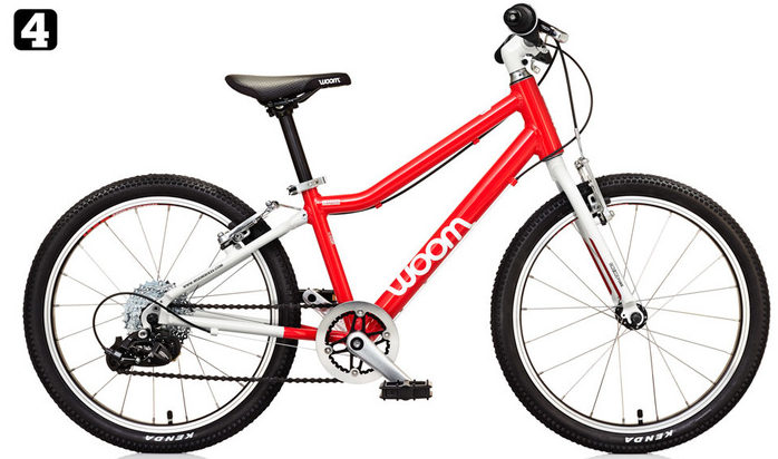 "Woom 4 20"" kids bike is the lightest bike on the market for kids aged 6 and 7 years of age. It's a unisex bicycle"
