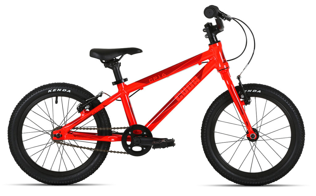 """The Cuda CP16 is one of the best 16"""" wheel kids bikes available for 2017/18"""