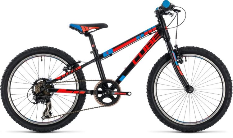 Cube Kid 200 in black - one of the best bikes for a 7 year old boy
