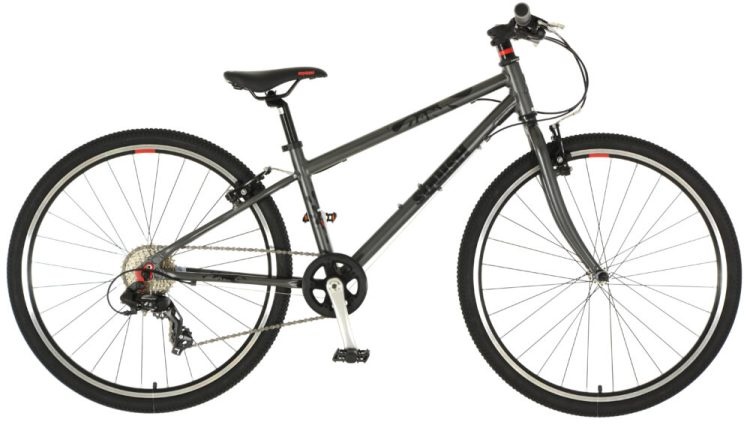 "best kids 26"" wheel hybrid bikes - Squish 26 in grey"