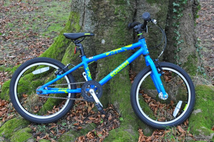 "Squish Bikes review - the Squish 18 is an 18"" wheel kids bike"