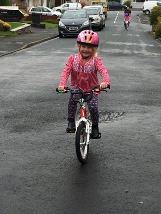 "Woom2 review of a 16"" wheel kids bike"