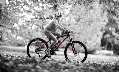 Frog Mountain Bike in use