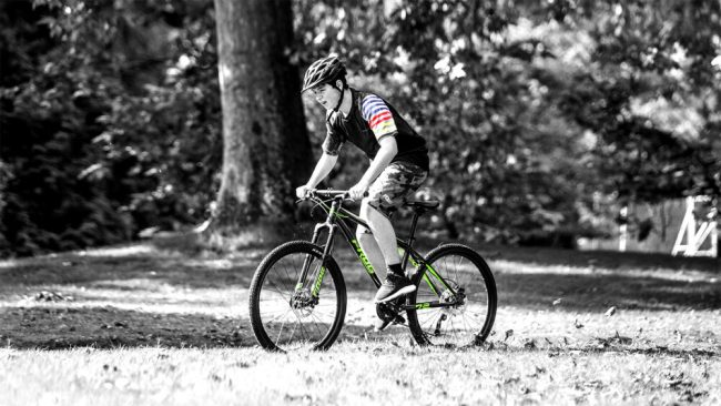 Frog MTB in use