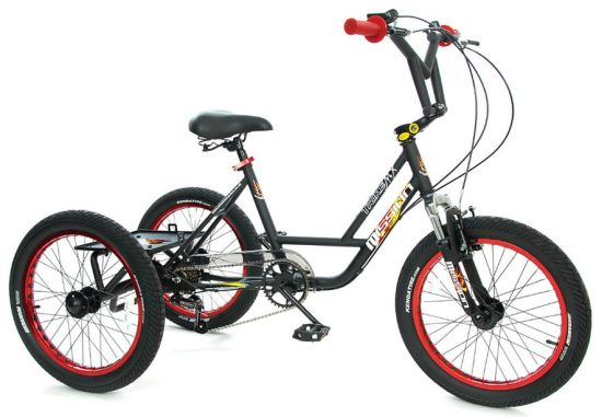Mission Cycles BMX Trike for kids with disabilities - adapted bikes for disabled children