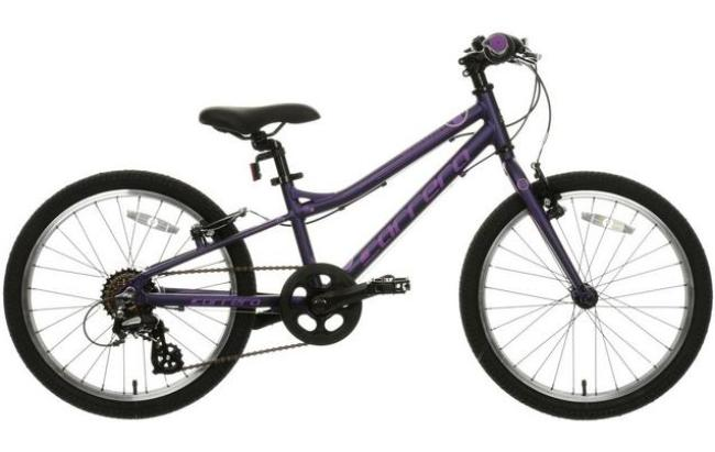 Halfords Carrera Saruna girls bike suitable for a 6 year old girl