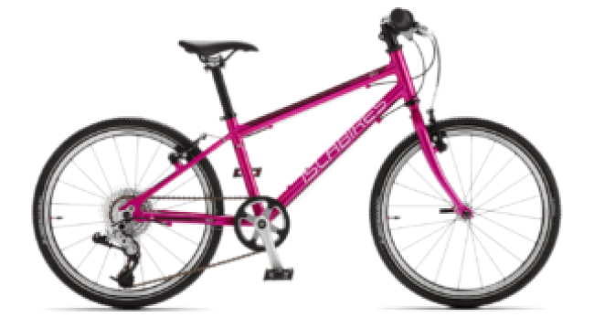 Islabikes Beinn 20 - the best pink bike for a 6 year old girl