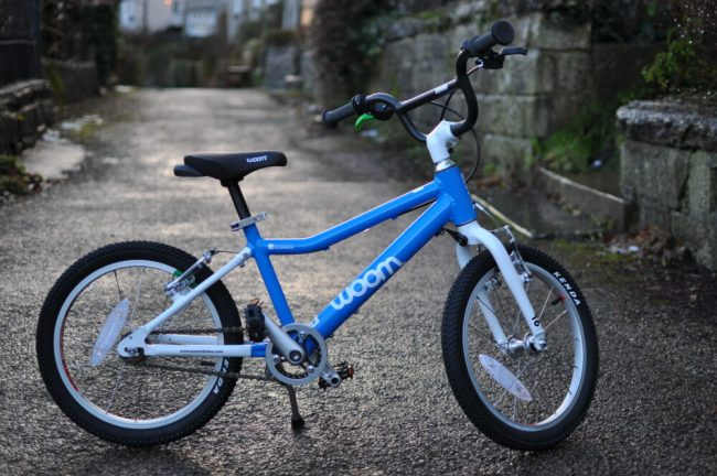 "Woom 3 review 16"" wheel kids bike"