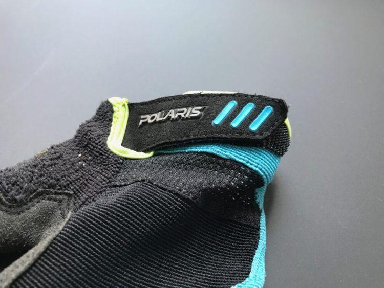 Polaris Tracker 2.0 Kids Trail Glove MTB mountain biking child size glove review