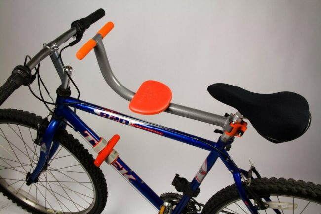Tyke Toter front bike seat for older children