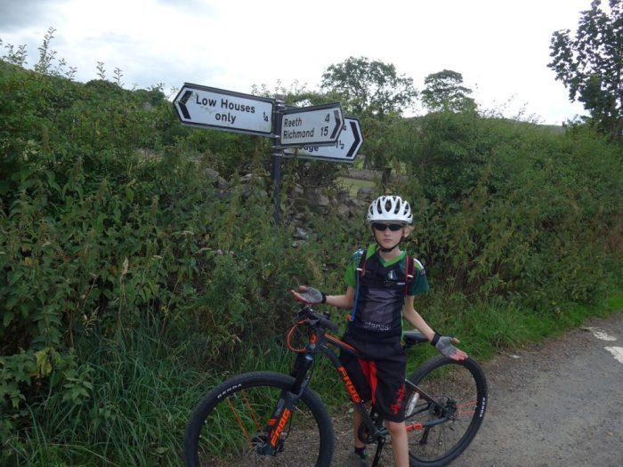 Swale Trail - lack of signs - are we going to Reeth?