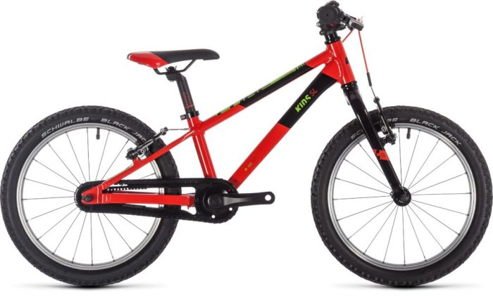 "Cubie 180 is a new 18"" wheel kids mountain bike"