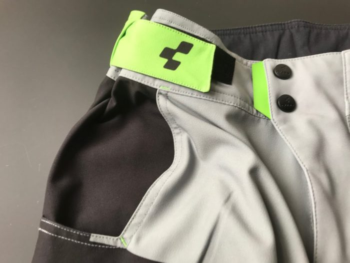Cube Action Essentials mtb short waist adjusters and fastener