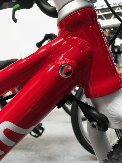 Woom Bikes hole for Woom Tandem
