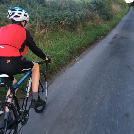 Work JA700 review: The bikes gearing gets it up steep hills