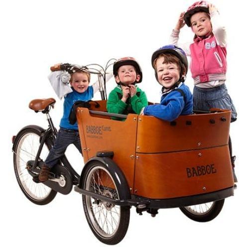 Babboe Curve Velocargo e-assit cargo bike