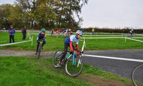 Worx Bike at U14's Cyclocross race