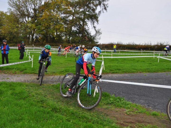 Worx Bike at U14's Cyclocross race