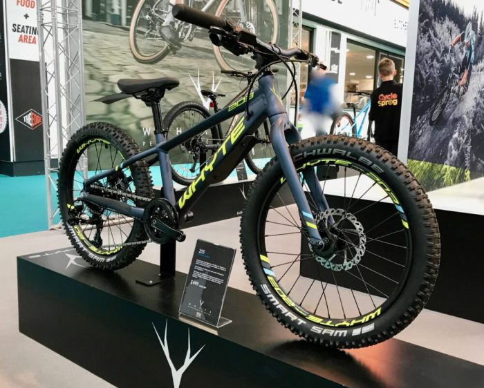 "Whyte 203 mtb with 20"" wheels"