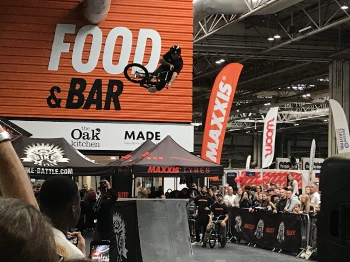 BMX Battle at the Cycle Show 2018 - don't miss these shows if you're taking your kids to the Cycle Show at the NEC