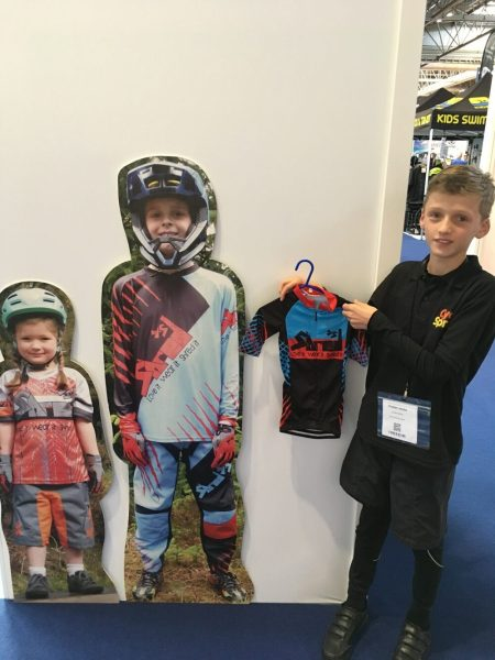ShredXS small cycling jersey for 3 year old child