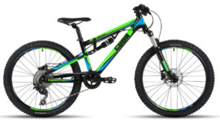 Cuda Impact dual full suspension kids mtb