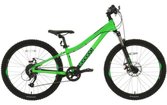 Voodoo Bakka 24 wheel MTB Cyber Monday deal on kids mountain bikes cheapest