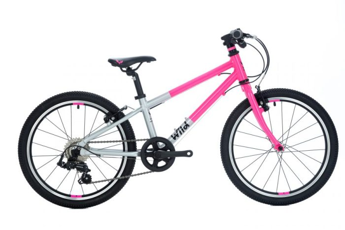 Wild Bikes 20 inch pink kids bike