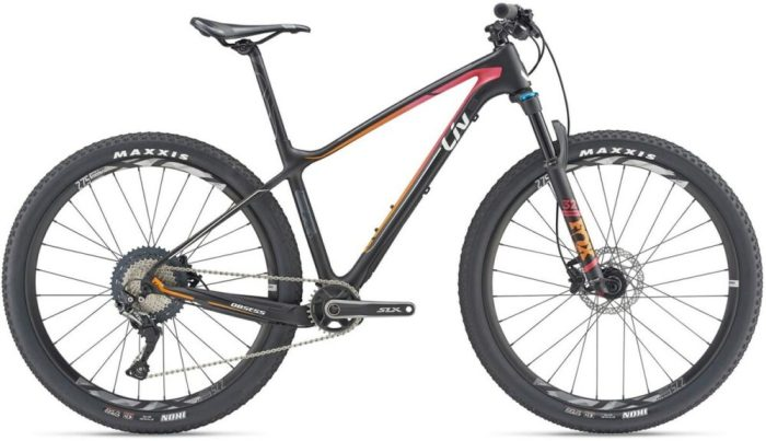 Liv Obsess Advanced Womens carbon mountain bike with 27.5