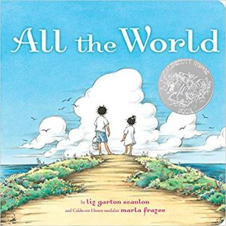 All the World Liz by Garton Scanlon - children's picture book featuring a tandem