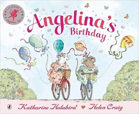 Angelina's birthday - a children's book that features cycling and bikes