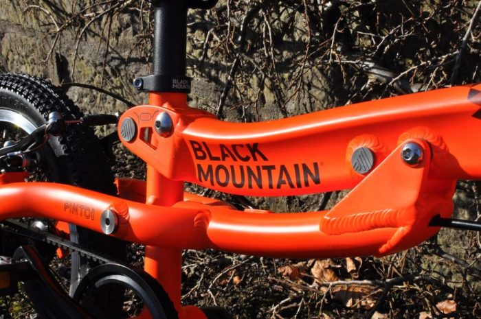 Black Mountain Pinto review - growing bike frame