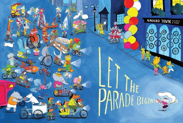 Cycle City by Alison Farrell a great children's book about cycling and bikes