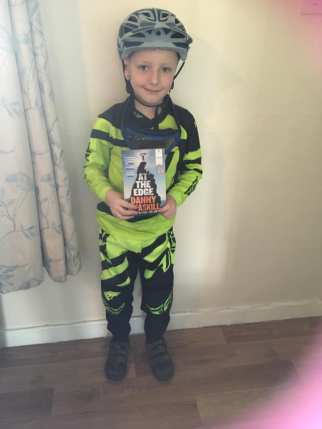 Danny MacAskill World Book Day costume