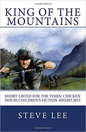 King of the Mountains - kids fiction book about mountain biking