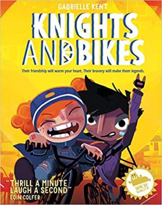 Knights and Bikes - kids fiction books about cycling