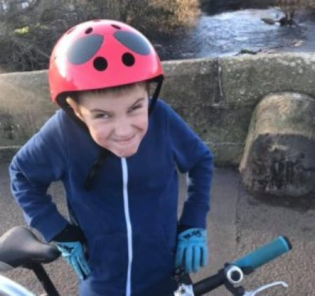 Mini Hornit kids cycle helmet review