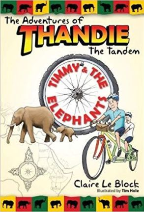 The Adventures of Thandie The Tandem - a children's book about cycling and tandem bikes
