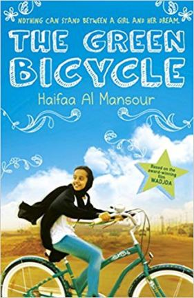 The Green Bicycle by Haifaa Al Mansour - a book about a girl cycling in Saudi Arabia