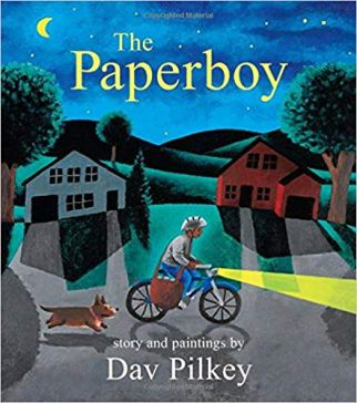 The Paperboy by Dav Pilkey - one of the best children's books about bikes