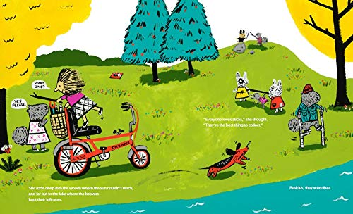 Bikes for Sale book - kids books about cycling