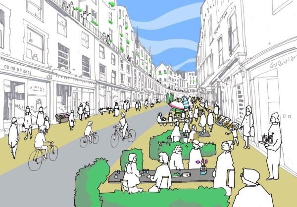 Edinburgh Cycle Plans